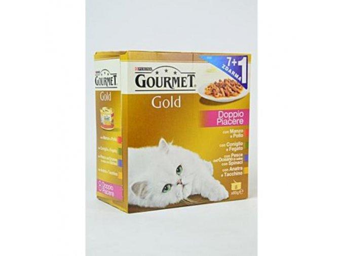 Gourmet Gold konz. gril.k.Mix Multi 7x85g