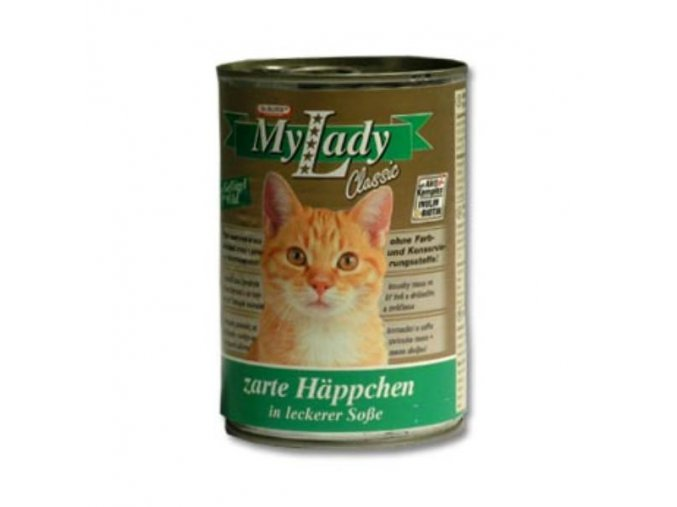 MyLady mačka konz. kuracina+zverina 415g