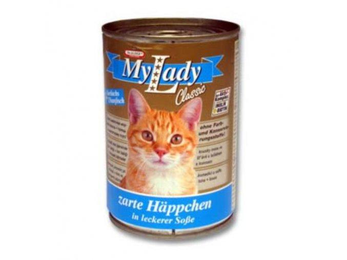 MyLady mačka konz. tuniak+losos 415g
