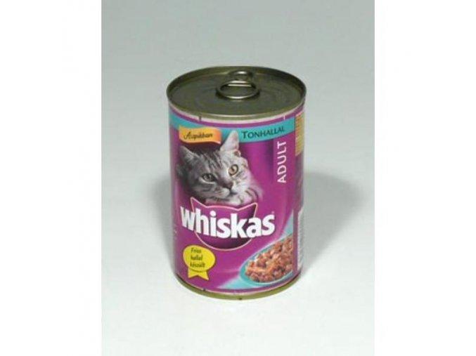 Whiskas konzerva s tuniakom 400g