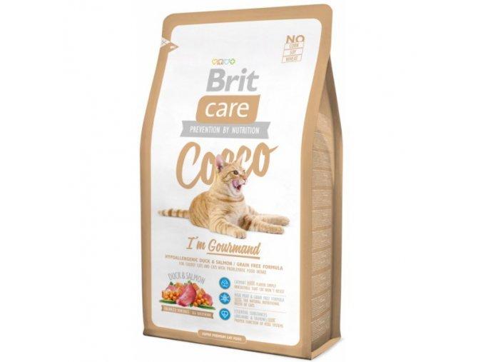 Brit Care Cat Cocco I´m Gourmed 2kg