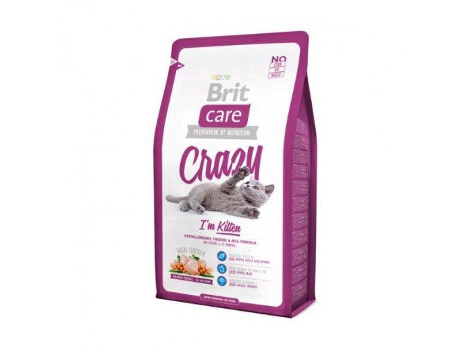 Brit Care Cat Crazy I´m Kitten 2kg