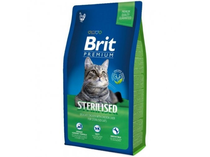 Brit Premium Cat Sterilised 8kg