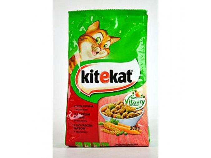 Kitekat Dry hovädzie so zeleninou 300g