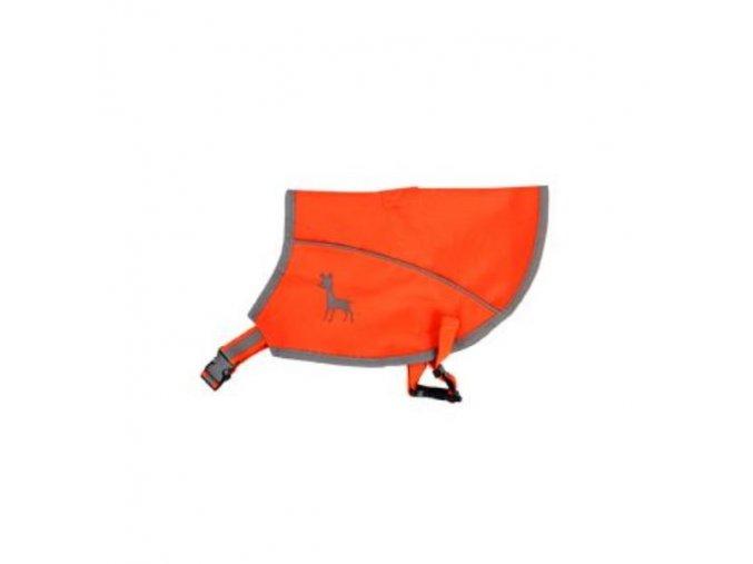 Vesta Alcott reflexní neon oranžová M