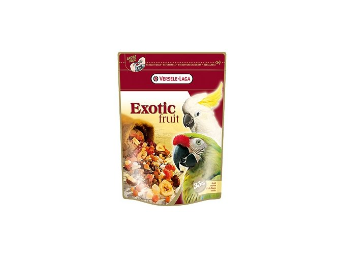 Exotic Fruit - zmes ovocia, obilovín a semien pre veľké papagáje