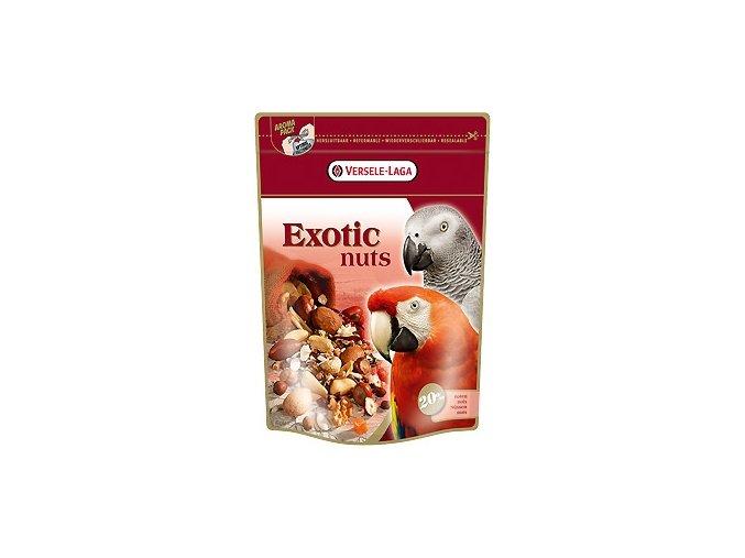 Exotic Nuts - zmes orechov, ovocia, obilovín a semien pre veľké papagáje 750g