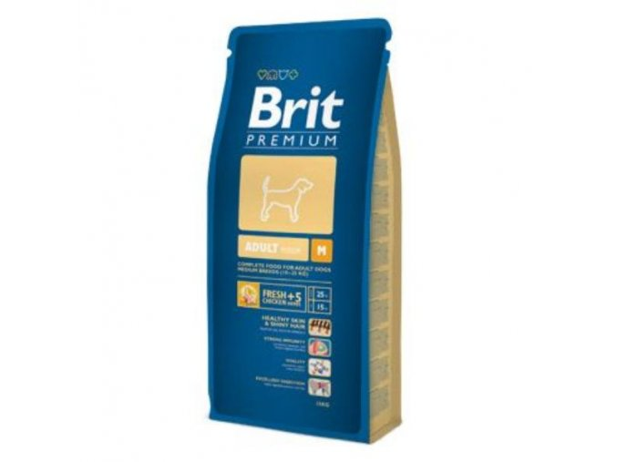 Brit Premium Dog Adult M 3kg