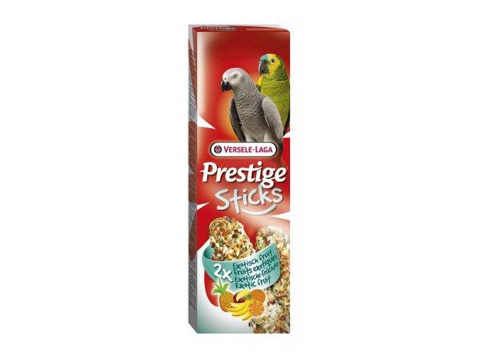 Prestige Sticks Parrots Exotic fruit - 2 tyčinky pre veľké papagáje s ovocím 140g
