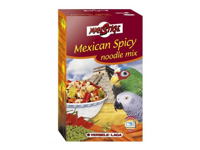 Mexican Spicy Noodlemix - 10 jednotlivo balených porcií cestovín do mikrovlnky s čili papričkami 400g