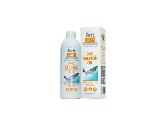 Brit Care lososový olej pes 500ml
