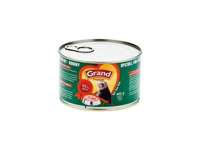 GRAND konzerva pre fretky 405g