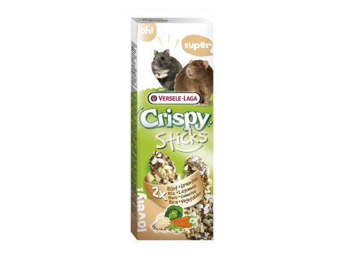 Crispy Sticks Rice & vegetables - ryža a zelenina, škrečok / potkan 110g