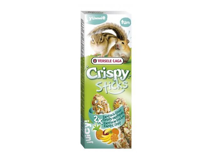 Crispy Sticks Exotic fruit - exotické ovocie, škrečok / veverička 110g