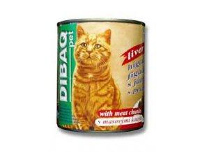 Dibaq Pet mačka konz. pečeň 810g