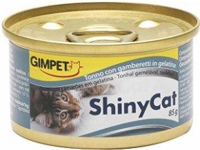Gimpet konz. ShinyCat tuniak / krevety 2x70g