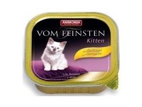 Animonda vanička Kitten hydinové 100g