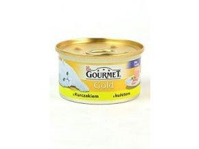 Gourmet Gold jemná paštéta s kuracím mäsom 85g