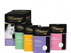 Miamor Cat Feine Filets Auslese kapsa Multi,4x2x50g