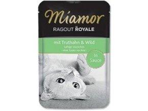 Miamor Cat Ragout kapsa moriak + zverina v šťave 100g