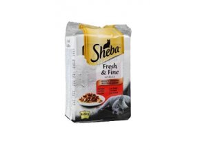 Sheba kapsa Fresh Fine Exkluzívny výber 6x50g