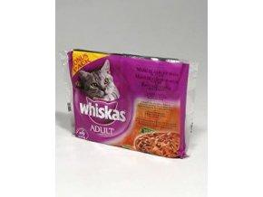 Whiskas kapsa Menu zo 4 druhov mäsa 4x100g