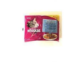 Whiskas kapsa Delice varené v pare Ryba 4pack 85g
