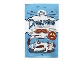 Dreamies pochúťka s lososom 60g