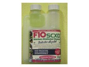 Veterinárna dezinfekcia so saponátom F10SCXD