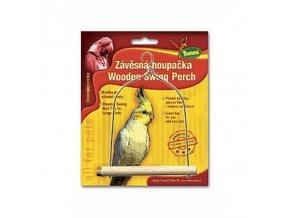 Húpačka stredná pre vtáky drevo - kov