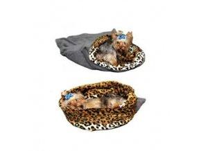 spaci pytel 3v1 mini peskocka c5 seda leopard