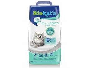 Podstielka Biokat´s Bianco Fresh Control 10kg