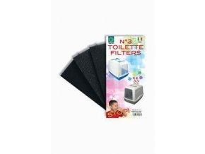 Náhradný filter k WC pre mačky 3ks ARGI