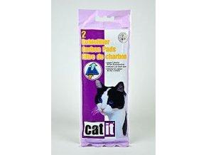 Náhradný filter uhlíkový pre WC CATIT s krytom 2ks