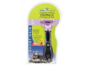 FURminator hrablo Small Short Hair pre mačky 1ks