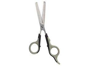 Nožnice na strih efilačné jednostranné 18,5cm Trixie