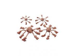 Hračka pes Chobotnica 8,5x10cm bavlna KAR 1ks