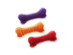 Hračka Kosť Dentálna rebrovaná plávacia 12cm SP