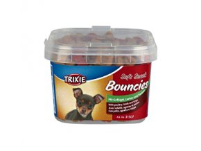 Trixie BOUNCIES mini kostičky kura / jahňa / držky 140g