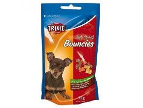 Trixie BOUNCIES mini kostičky kura / jahňa / držky 75g