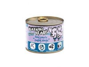 BARKING HEADS Tiny Paws Puppy Days Salmon konz. 200g