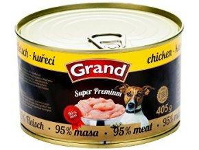 GRAND konz. Superpremium hydinové 405g