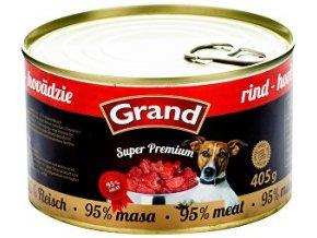 GRAND konz. Superpremium hovädzie 405g