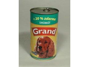 GRAND konzerva hydinová 1300g