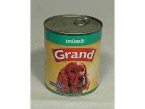 GRAND konzerva hydinová 850g