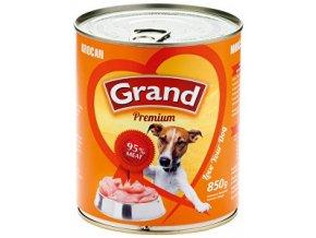 GRAND konzerva morčacie 850g