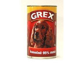 GREX konzerva hovädzia 1280g