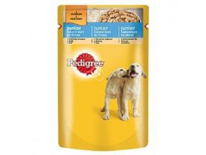 Pedigree kapsa Junior kuracia 100g