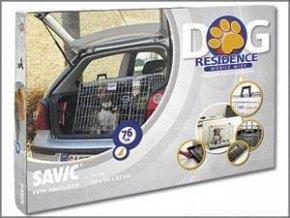 Klietka do auta Dog Residence 76x53x61cm