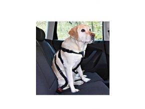 Postroj pes bezpečnostný do auta L Trixie